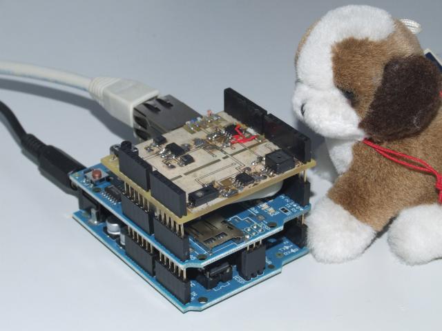WeatherShield1 Prototype for Arduino